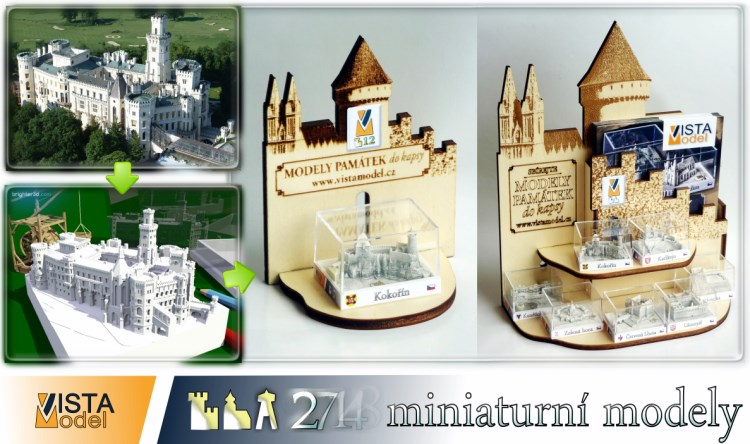 miniaturni modely vyroba